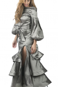 Gala Ruffle Platinum Skirt & Top