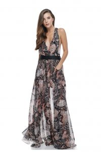 Sofia Maxi Jungle Dress