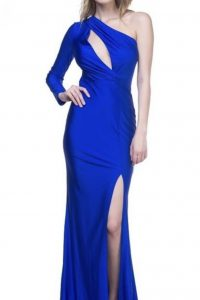 Bevy Royal One Shoulder Dress
