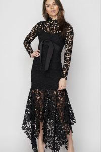 Avery Laser Cut Crochet Dress